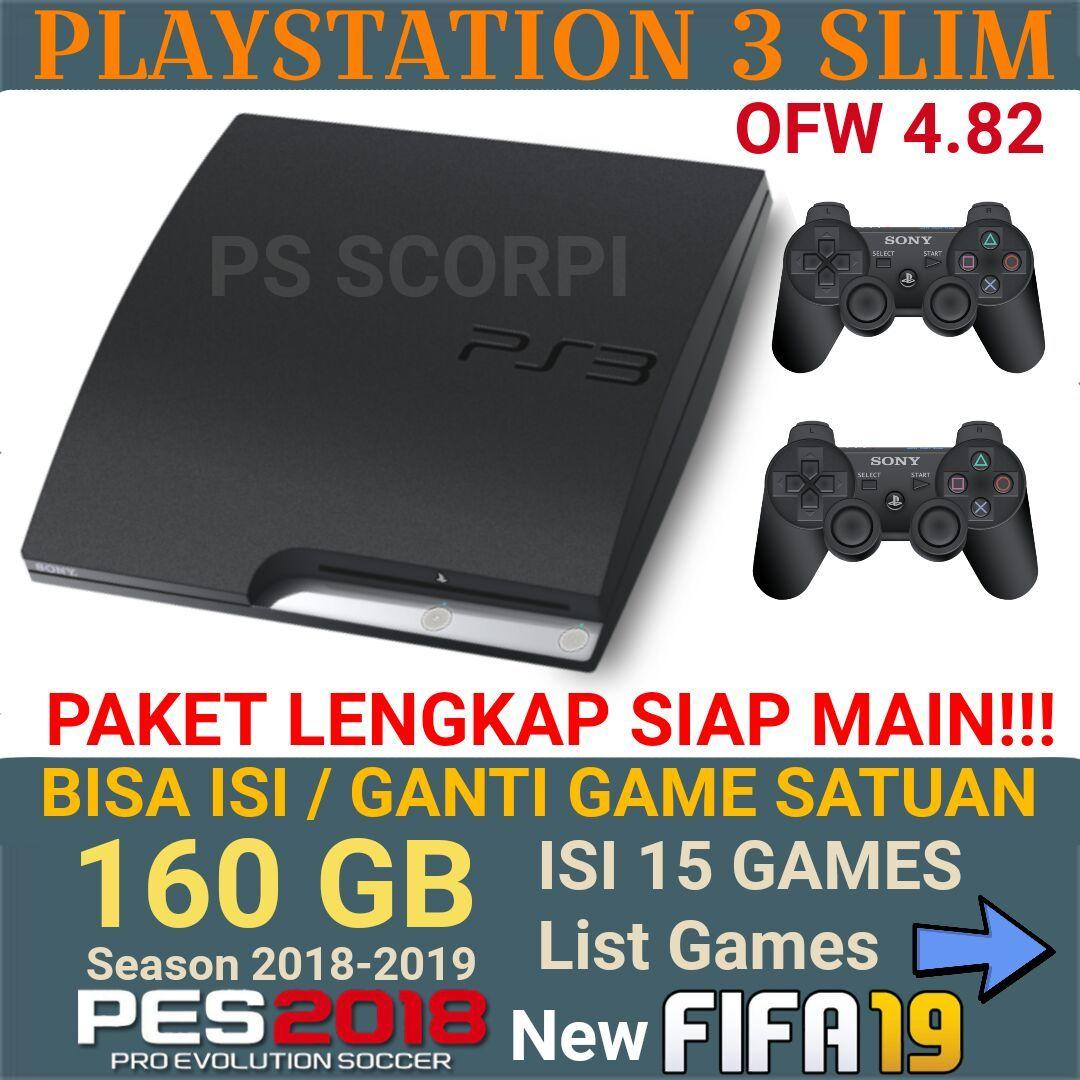 Playstation Terbaik Termurah Stik Op Ps3 Stick Ori Pabrik 3 2nd Werles Sony Ps Slim 160gb Ofw Full Games 2