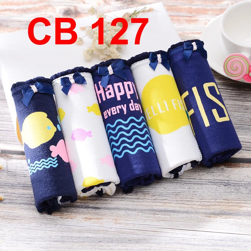 7ColourBox Celana Dalam Box Underwear Brief Wanita Cute Korean Style - XL ( 5 )