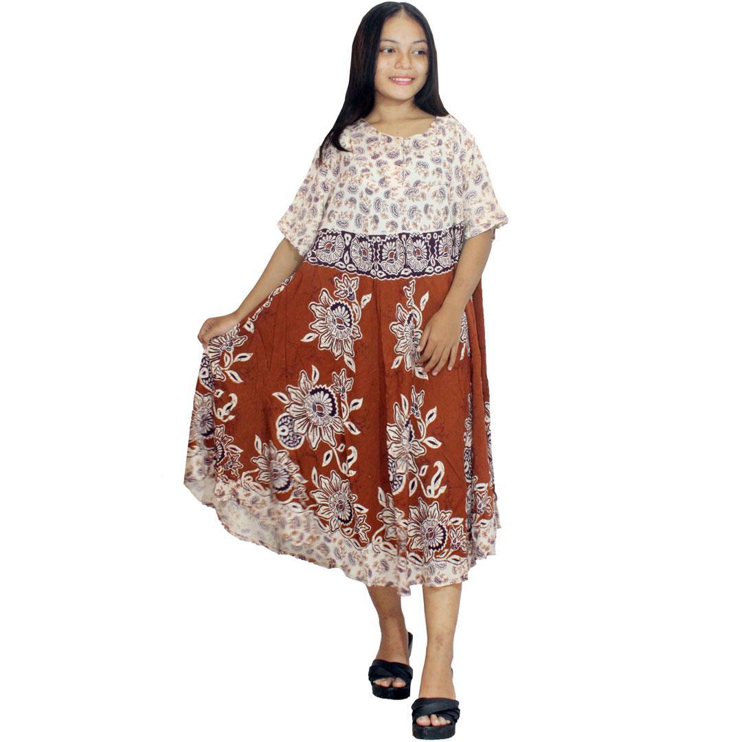 Daster Payung, Klok Batik, Baju Tidur, Piyama, Kancing, Daster Bumil - Busui (DPT005-14) Batikalhadi Online