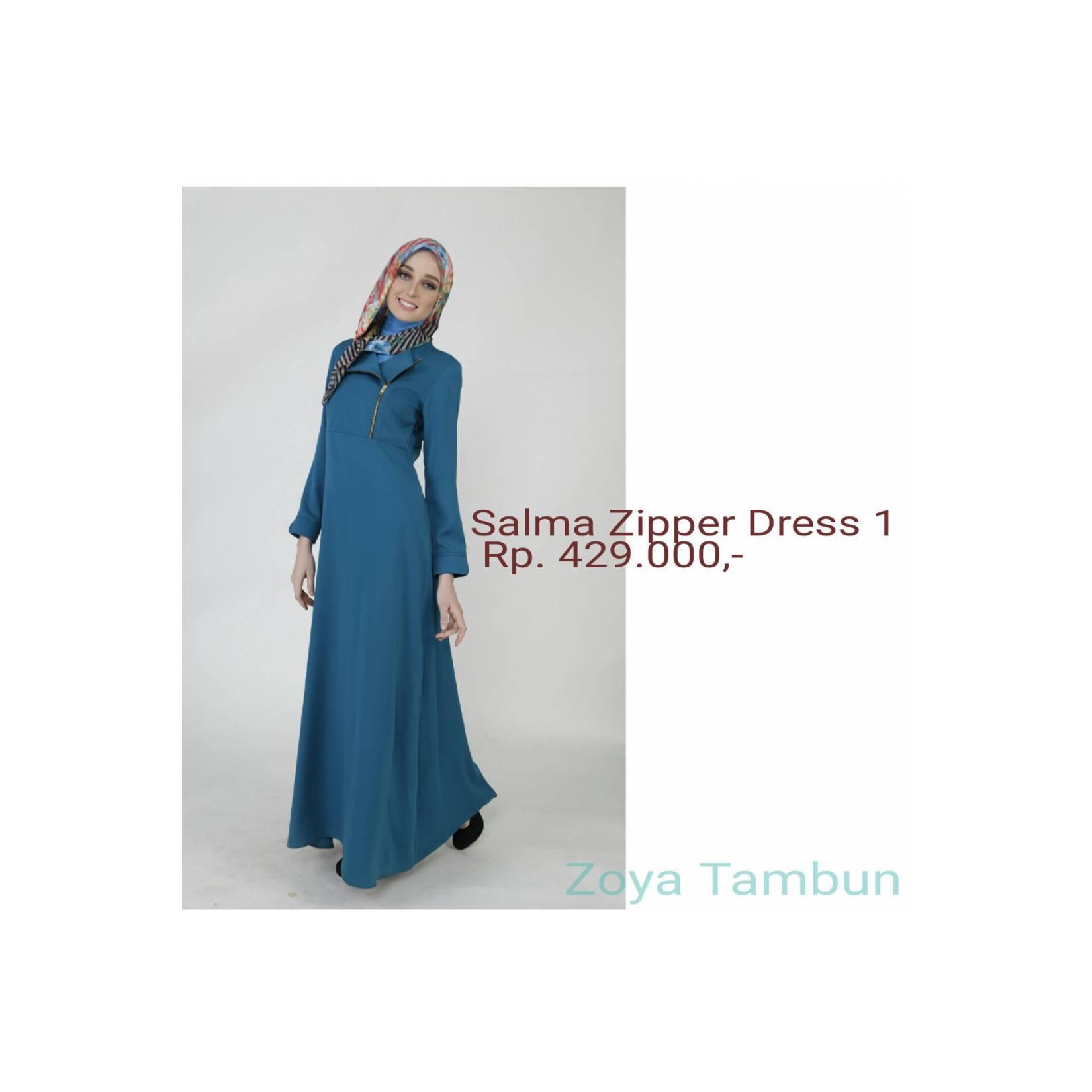 Zoya Salma Zipper Dress 1