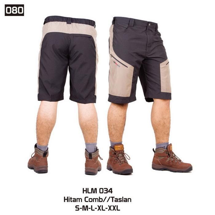 Celana Kargo Pendek Pria Bandung / Celana Premium Hiking Dan Outdoor