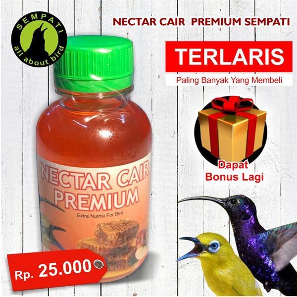 Nectar Nektar Cair Premium Sempati Vitamin Burung Pleci Kolibri Meningkatkan Gacor Mental Daya Tahan Tubuh