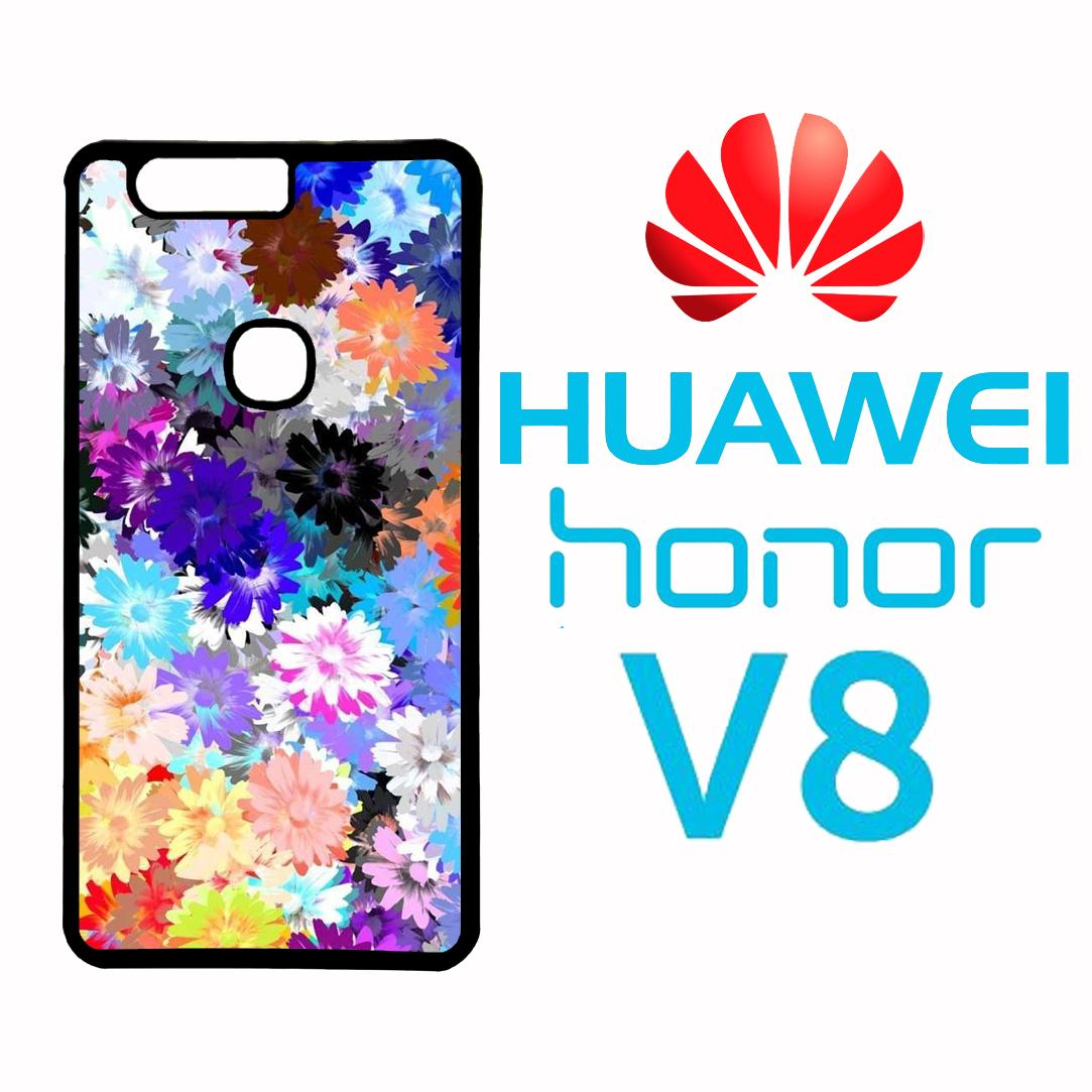 Intristore fashion printing case Huawei Honor V8 - 6