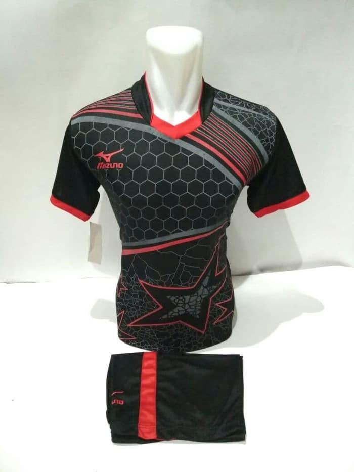 Baju Futsal Voly Kostum Jersey Voly Futsal Setelan Voly Mizuno