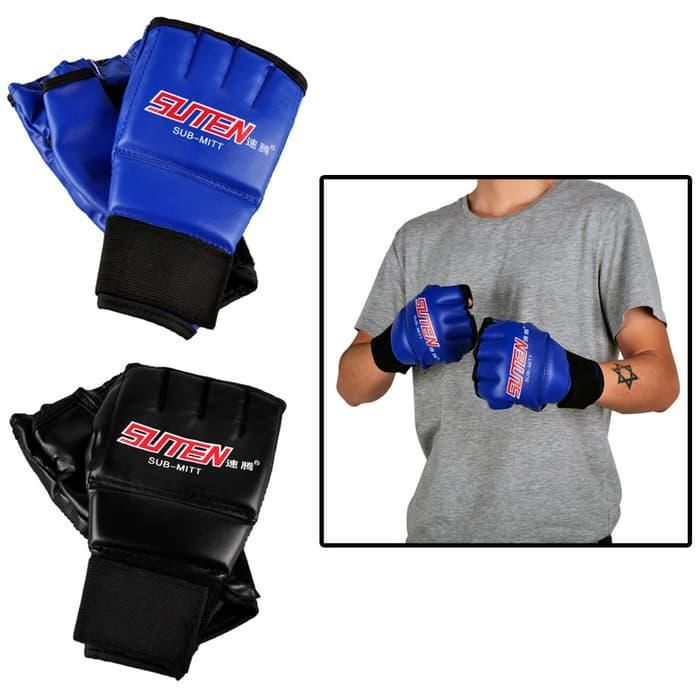 HOT SPESIAL!!! Sarung Tangan Suten Leather untuk Boxing / Muay Thai / MMA Training - MC65m4