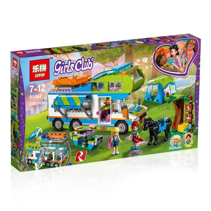Lego KW Merk LEPIN Friends 01062 Mia's Camper Van 41339