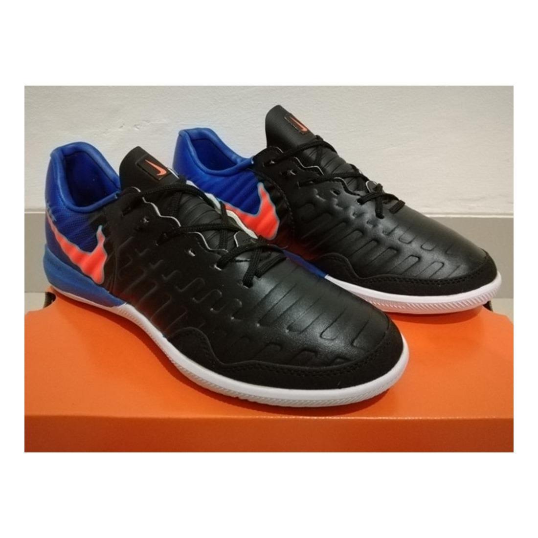 Sepatu Futsal Nike Tiempo Ligera IV Premium 5 Variasi Warna Hitam