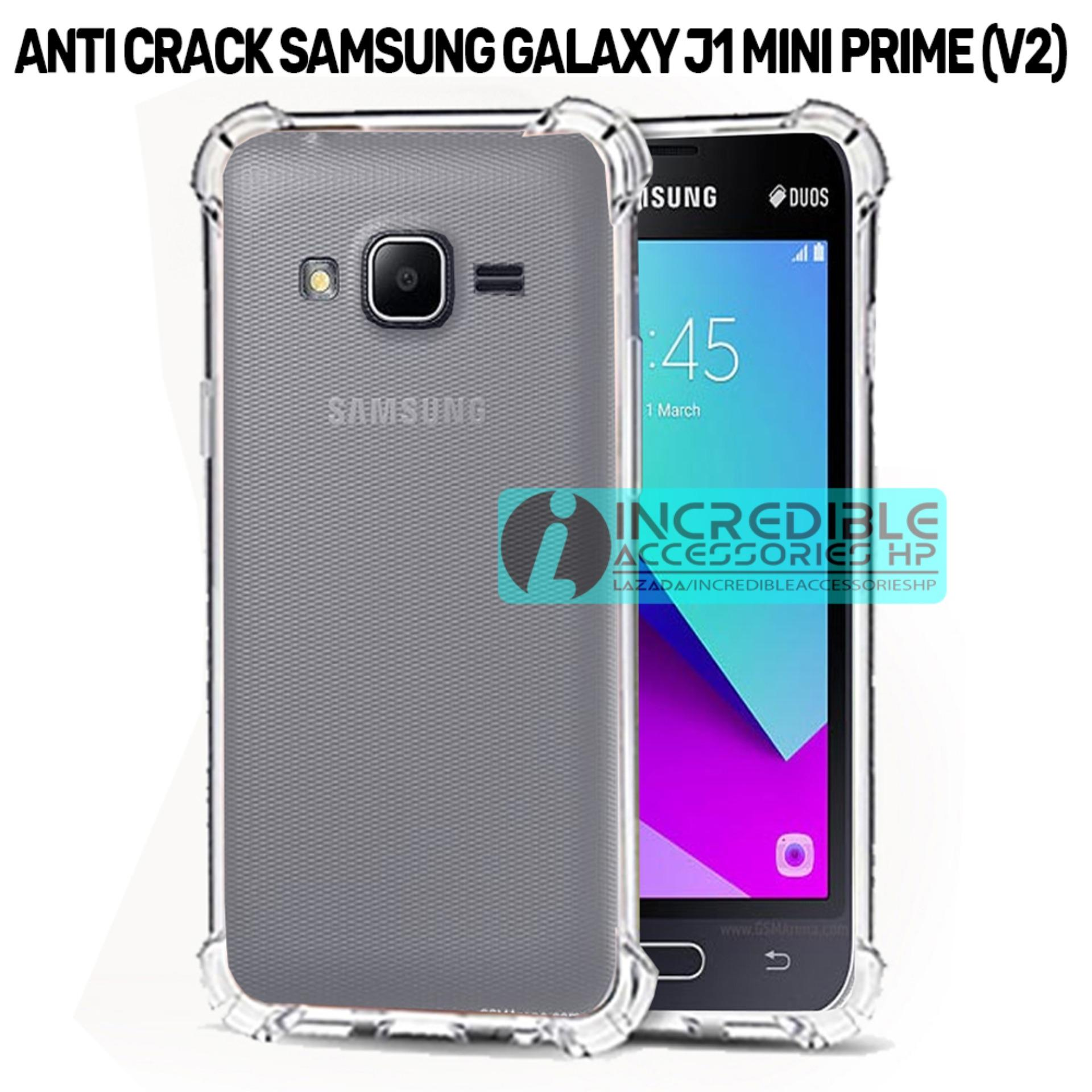 Case Anti Shock / Anti Crack Elegant Softcase  for Samsung Galaxy V2 / Galaxy J1 Mini Prime - White Clear