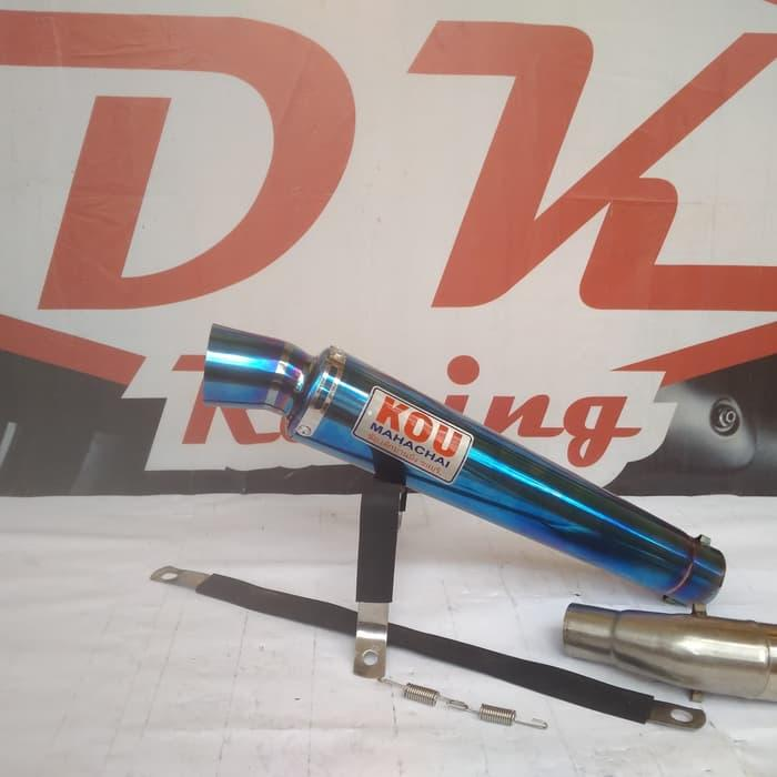 Knalpot Racing Kawasaki Versys 250 Slip On Kou Bloumont By Dk Racing Bekasi.