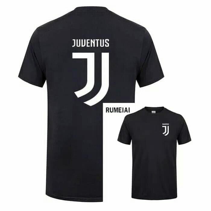 5d2e0b2d024 Best Seller - Kaos Baju Obral Combed 30S Distro Logo Besar Kecil Juve  Juventus Promo -