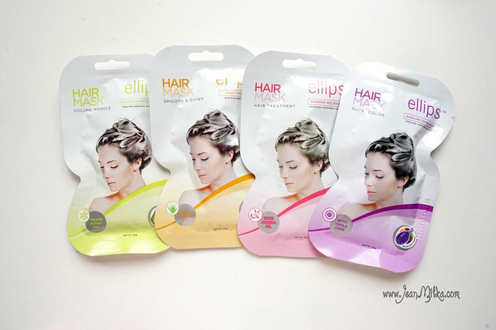 [Sachet] ELLIPS VITAMIN HAIR MASK 20g / Masker Vitamin Rambut - Vitamin Rambut Terlaris - Kesehatan Rambut -  Perawatan Rambut - HAIR MASK Origial - Best Seller