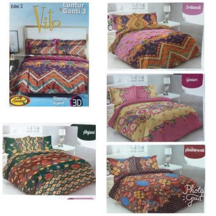 Sprei batik Carmina No 1 King Size motif PAKSI / Model Terbaru