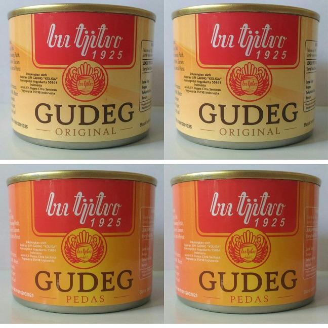 Gudeg Kaleng Bu Tjitro Original Pedas Paket Hemat