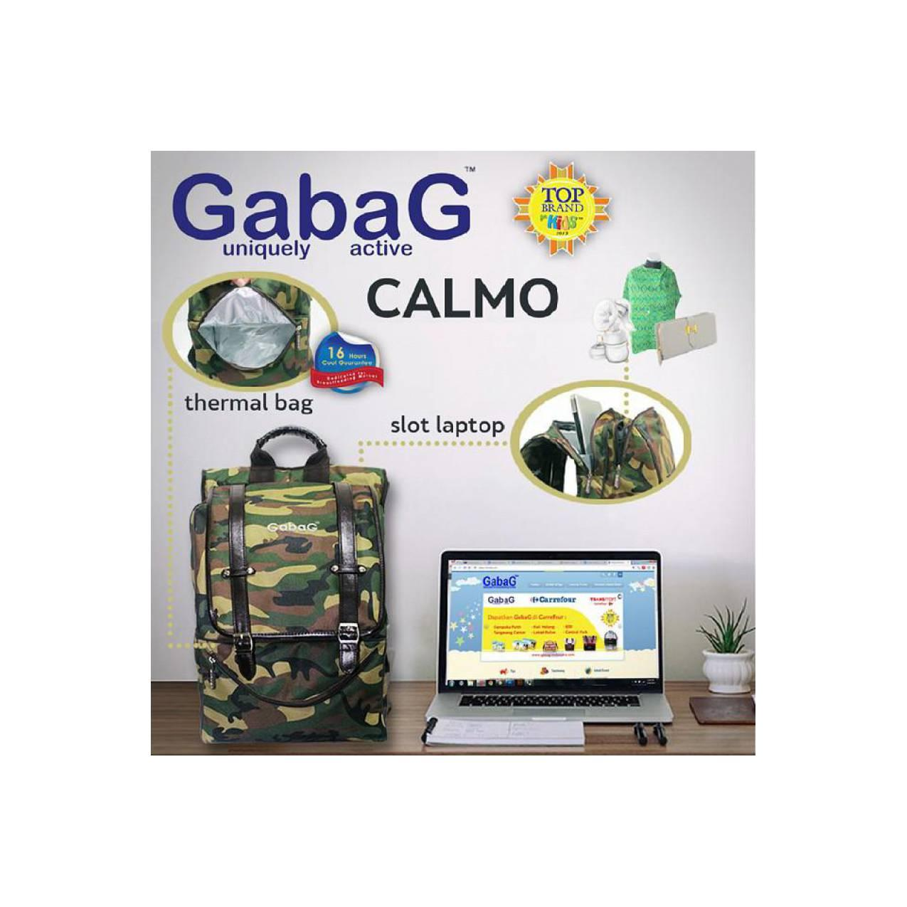 Gabag Cooler Bag Calmo Motif TNI ABRI Buat Para Bunda Pejuang Asi