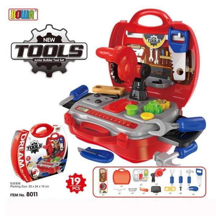 Mainan Anak Laki-Laki Dream Tool Kit Koper - Mainan Tukang-Tukangan / Mainan anak termurah / mainan anak terbaru / mainan koleksi / mainan edukasi / mainan anak berkualitas