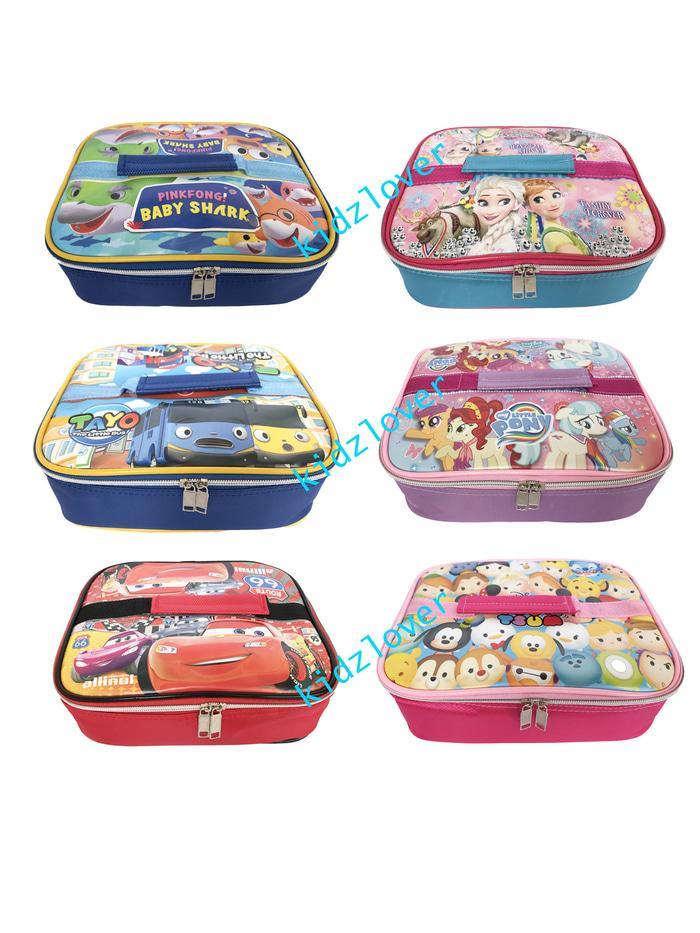 ORIGINAL!!! Tas Bekal Anak Dewas Lunch Box Lunch Bag Lucu Souvenir Piknik Goodie  - axZcrr