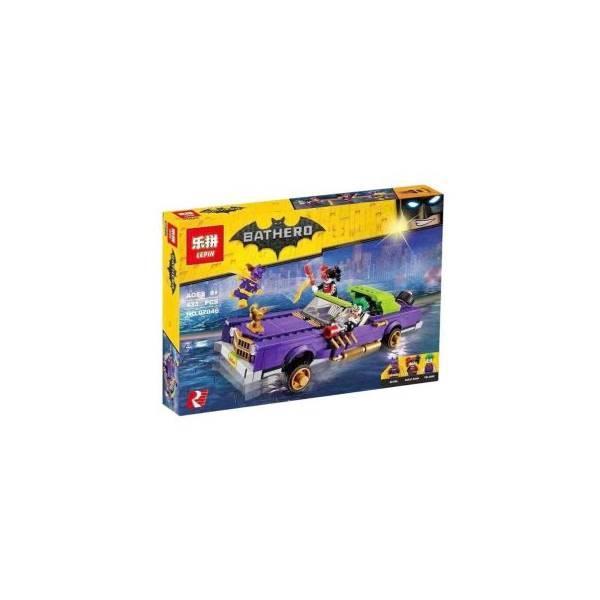 TERMURAH Lepin 07046 433Pcs The Joker Notorious Lowrider Hadiah Ulang Tahun