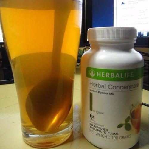 Herbal Concentrate Herbalife #Teh Pembakar Lemak dan Peluntur Lemak Tubuh