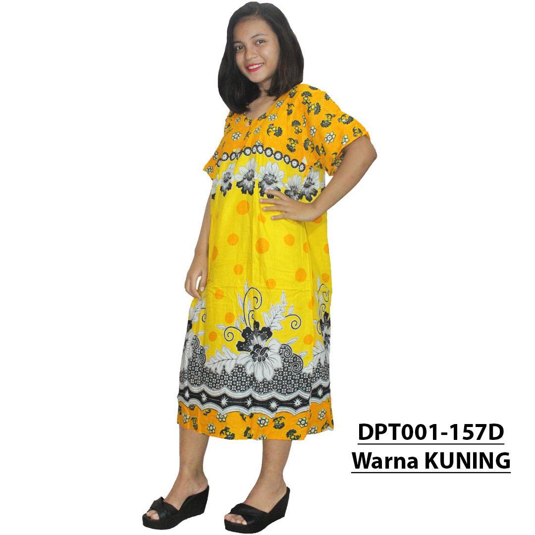 Daster Batik, Daster Lengan Pendek, Baju Tidur, Piyama, Kancing, Dastre Bumil - Daster Busui (DPT001-157) Batikalhadi Online