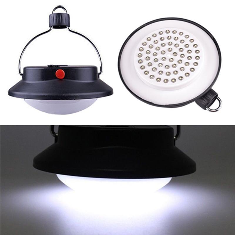 Rimas Lampu LED Gantung Camping Waterproof Desain Lentera 60 LED - Black