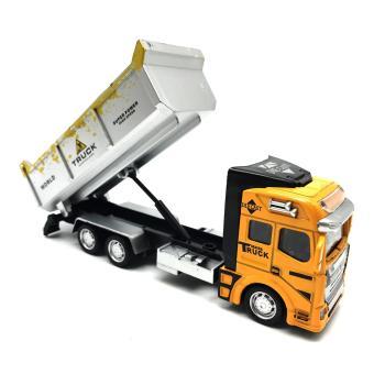 Bandingkan Toko (FREE PACKING KERTAS KADO) RKJ Mainan Anak Truck Alloy Model Metal With Plastic Parts Truck 2211 sale - Hanya Rp62.725