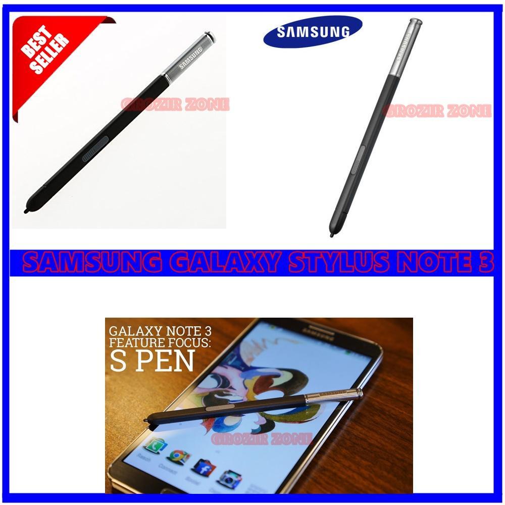 Samsung Stylus Pen Stylus S Pen untuk Samsung Galaxy Note 3 / N9000 Hitam - Original