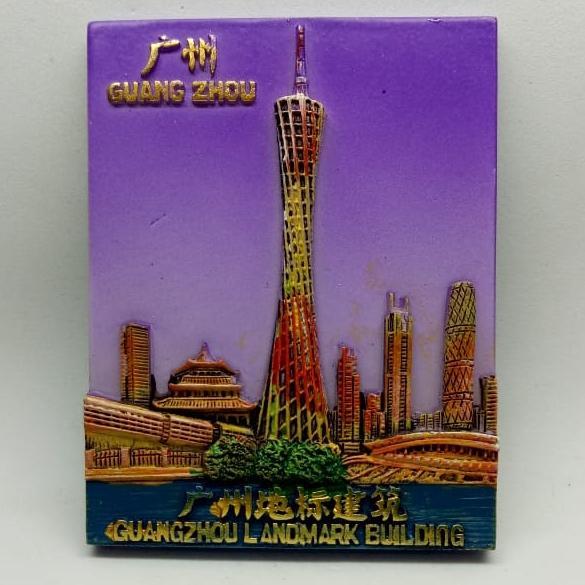 Magnet / tempelan kulkas negara China