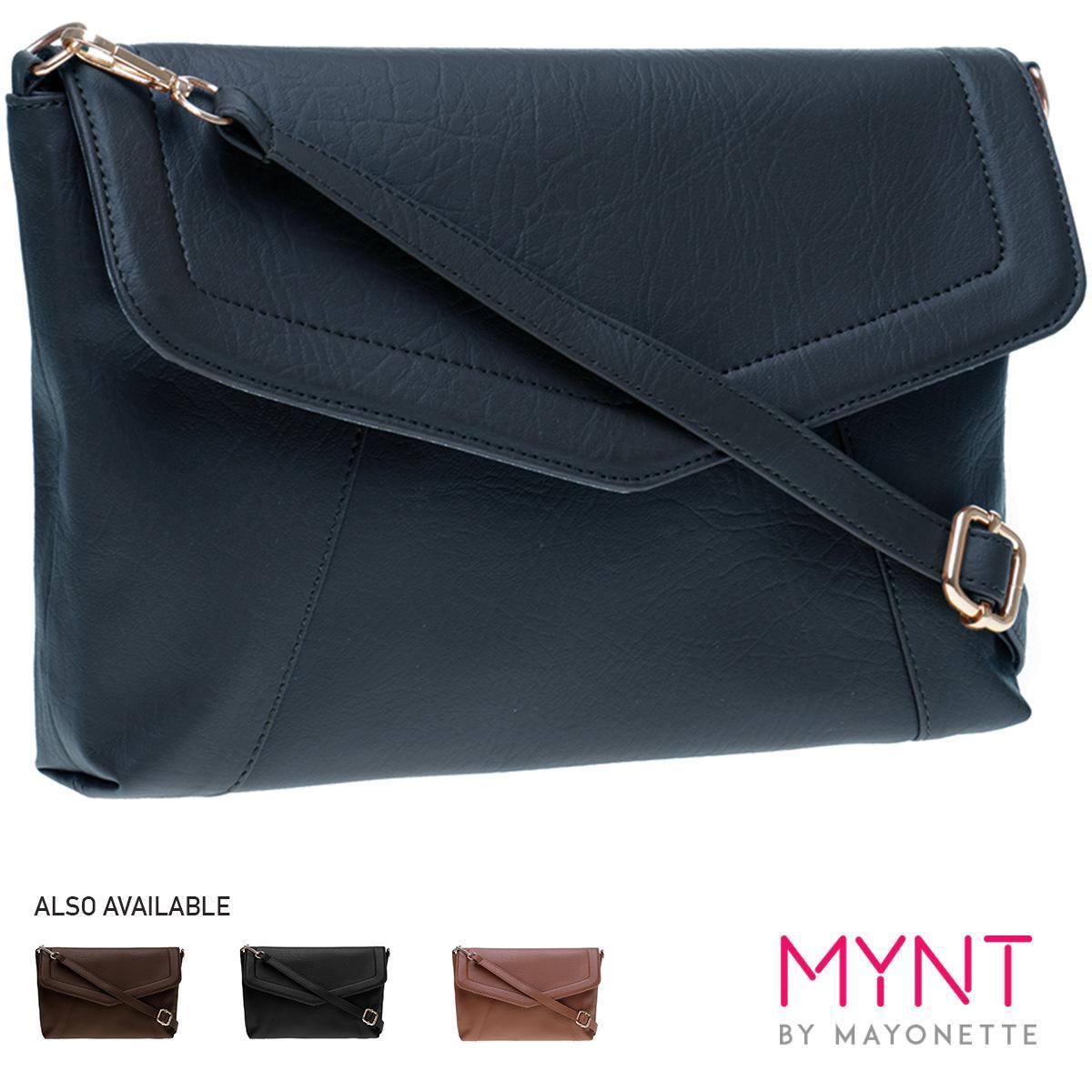 MYNT by Mayonette Tas wanita Tas Fashion Tas Selempang Crossbody Branded Korean Style Trendy Bags Felipe Sling - Navy Blue