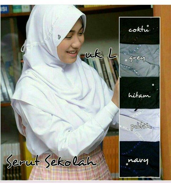 New Jilbab Hijab Kerudung Rabbani KW Super Hd/Putih