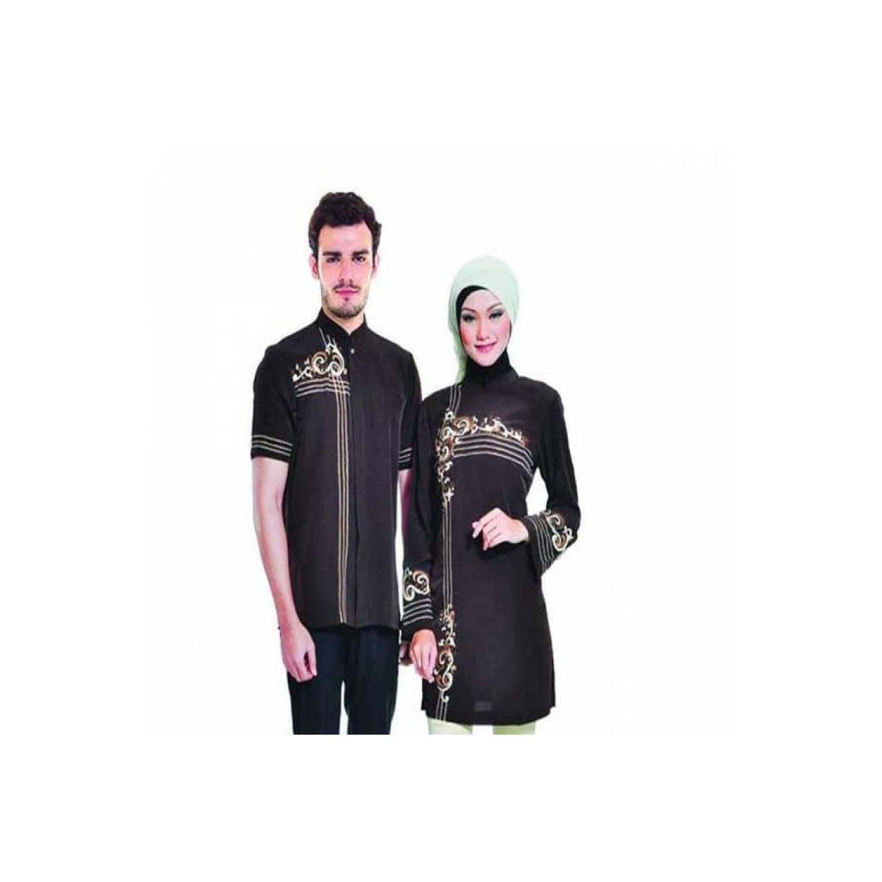 PROMO SPESIAL baju muslim couple terbaru / baju muslim pasangan modis