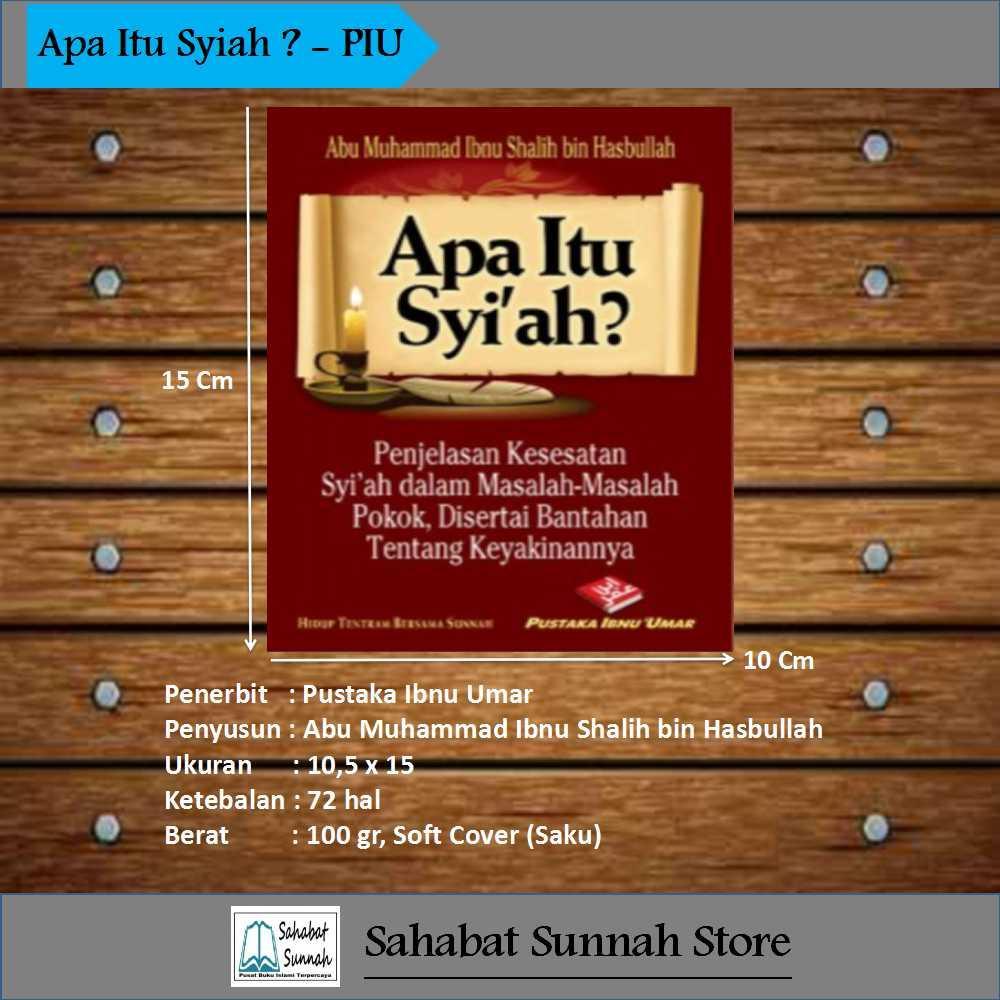 Apa Itu Syiah - Pustaka Ibnu Umar