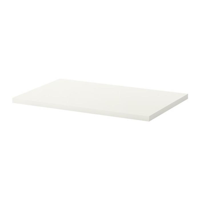 IKEA LINNMON Daun meja 100x60 cm, putih