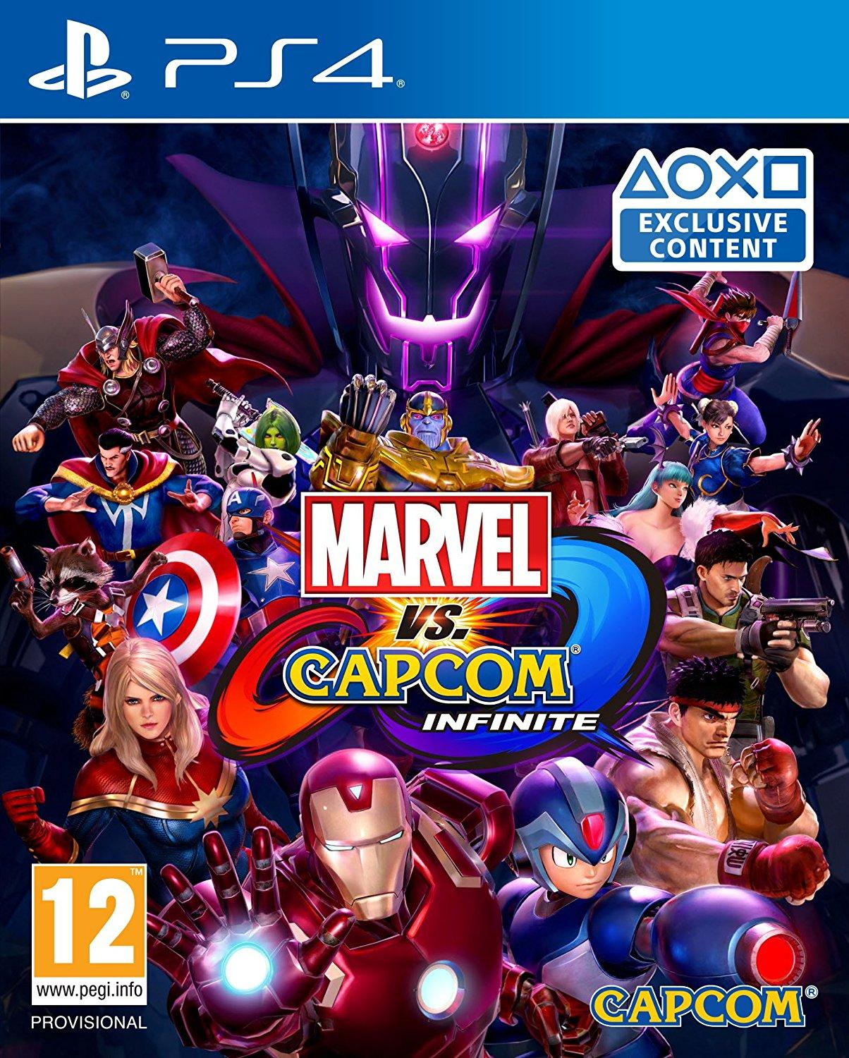 Playstation Marvel vs Capcom Infinite Standard Edition - PS4