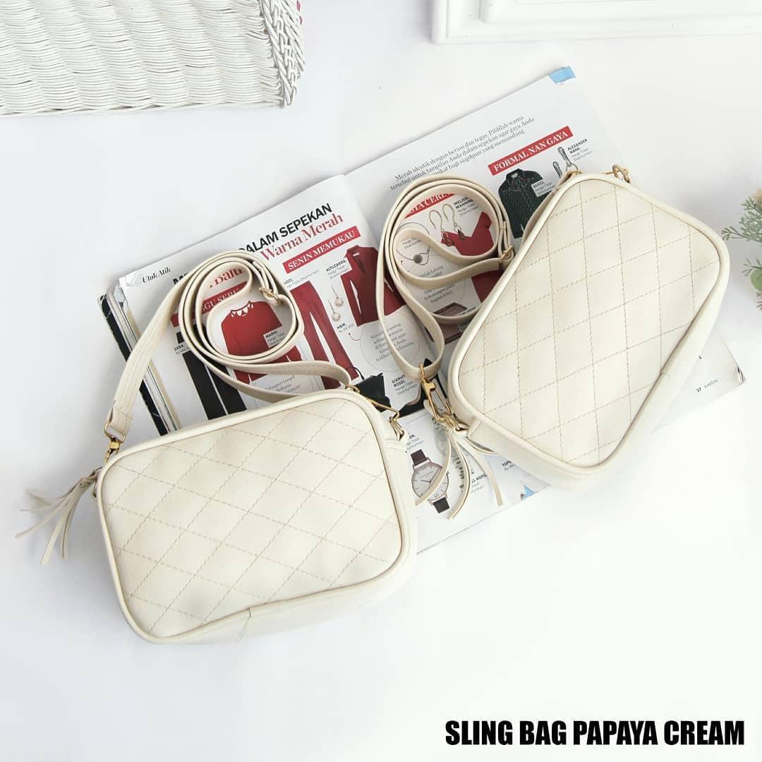 Tas Slempang Wanita Baymax Cream 10117 Daftar Harga Terbaru Bsm Soga Bhs 782 Ransel Keren Synthetic Hitam 10117idr36000 Rp 37000 Sling Bag Serut Zipp