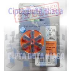 Baterai Alat Bantu Dengar,Hearing Battery,Power One 13(P13)