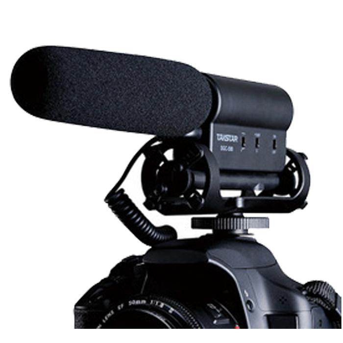 Shotgun MIC Microphone SGC-598 Photography Interview for Nikon Canon DSLR Camera Terlaris di Lazada