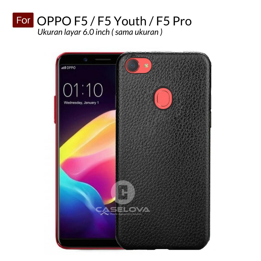 Caselova Super Ultraslim Matte TPU Hybrid Anti Fingerprint Case For Oppo F5 / F5 Youth / F5 Pro 6.0 inch - Black