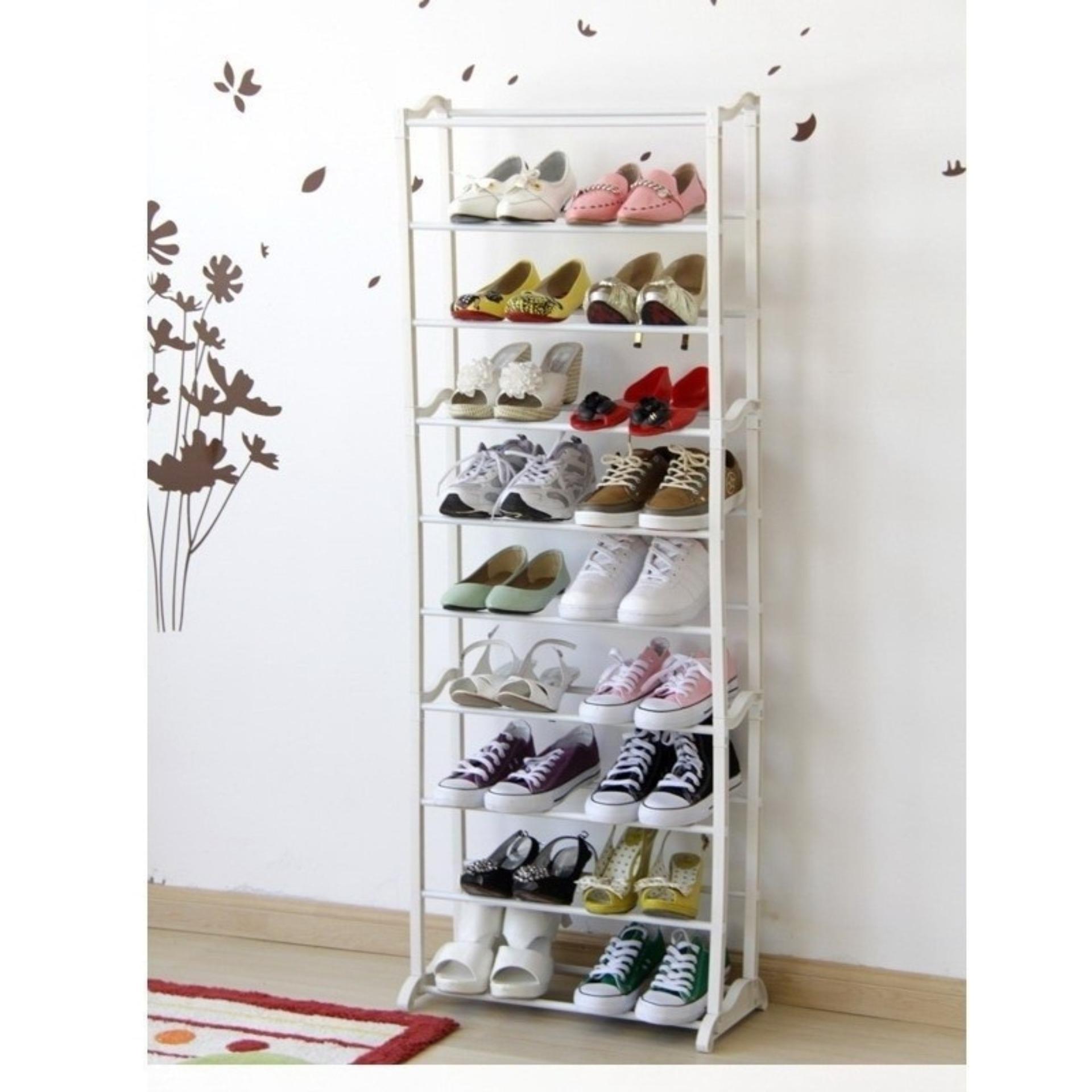 LARS - Amazing Shoes rack 10tingkat Rak Sepatu ajaib