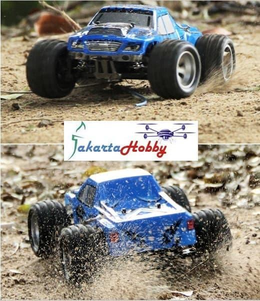 RC Mobil Remote WL A979 Monster Truck 1/18 2.4Gh 4WD RTR RC Car