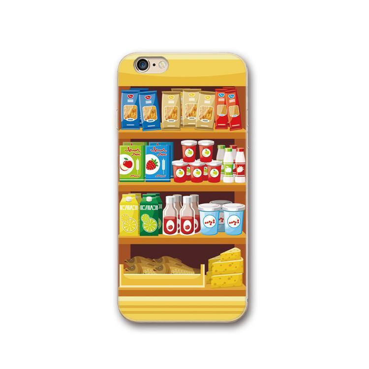 Plus Selubung Ponsel IPhone7 Camilan Mesin Selubung Lunak Karakter Silikon