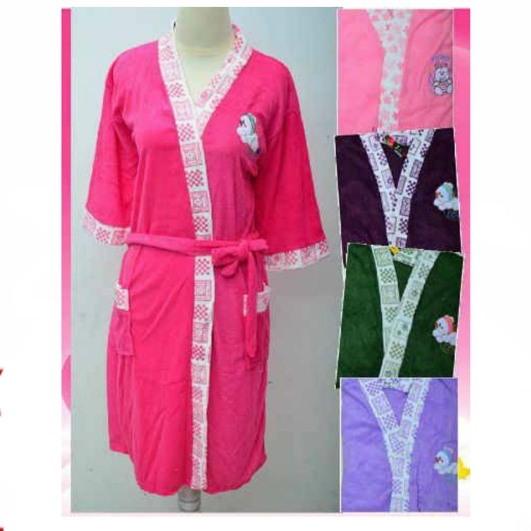 Handuk Model Piyama (Ukuran Standart) Atau Handuk Kimono Untuk Wanita - All Size