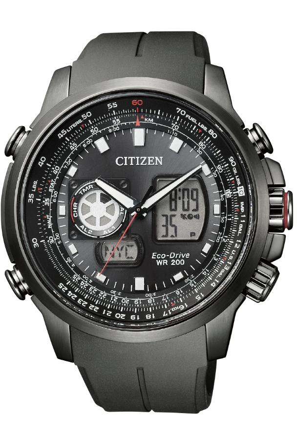 Citizen JZ1066-02E Promaster Sky World Time Chronograph Ana-Digi Men Watch