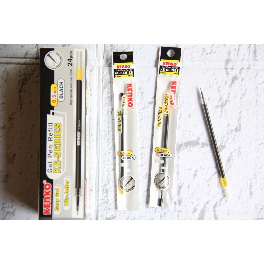 Refill Pen Gel Kenko 0-5 Mm KE-Series (Tinta Hitam)