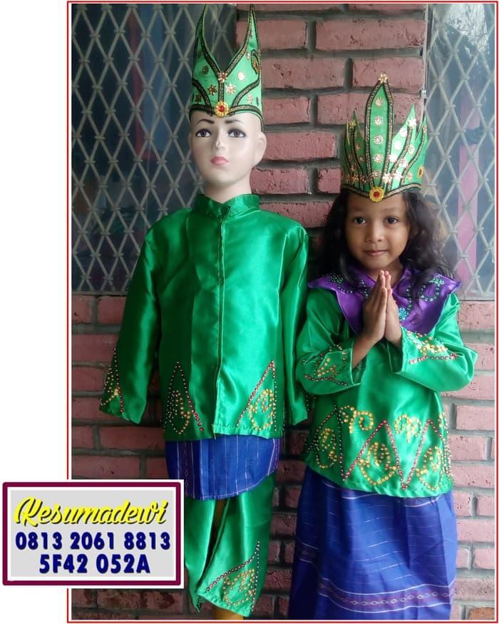 Promo: Bangka Couples Paud-Tk | Baju Adat Karnaval Kostum Tari Anak Tradisi - ready stock