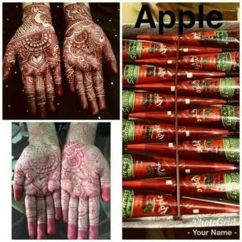 Harga Preferensial Henna Golecha Sehnaaz Apple Beli Sekarang Hanya
