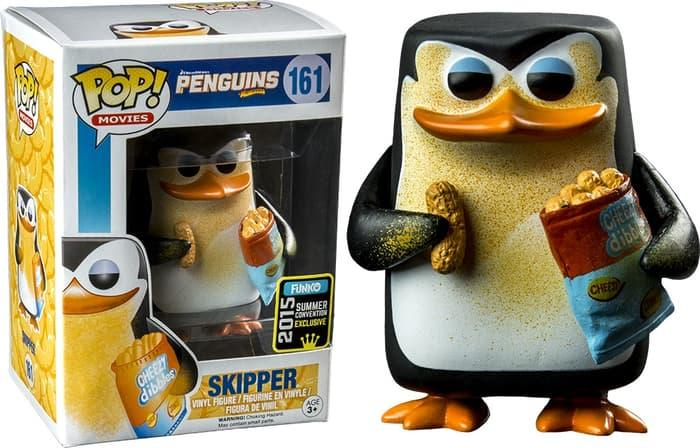 Funko POP! Movies Penguins of Madagascar - Skipper (Cheesy) SDCC #161 - zJ28MI