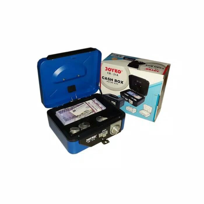 Cash Box Kotak Brankas Penyimpanan Uang Barang Kunci Ganda Size 17 186031fdb2