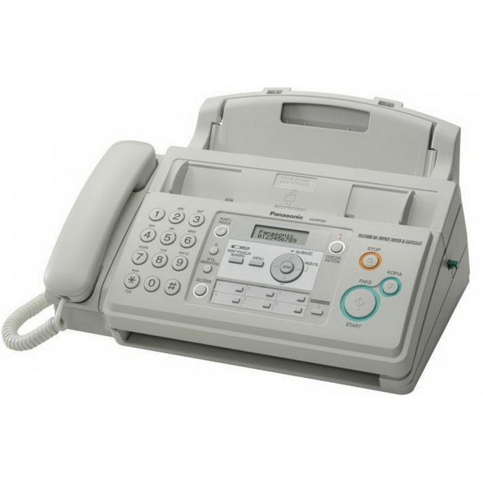 Panasonic Best Seller Murah KX-FP711 CX / FP-711 / FP 711 Faximile Facsimile Fax Plain Paper Bergaransi Resmi - Putih