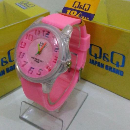Q&Q Jam tangan Anak - Anak Rubber strap Design Menarik QQ 1109 ( New ) ...