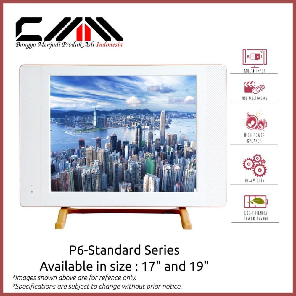 TV LED CMM 19 / USB Movie Ready / Putih / Fitur Lengkap / Murah